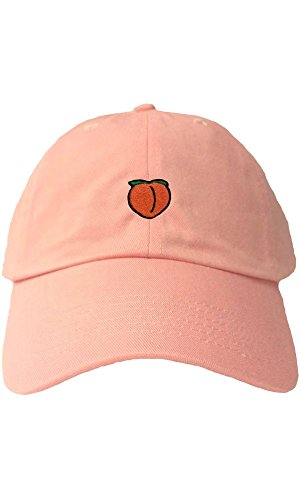 Peach Emoji Hat
