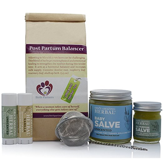 Postpartum Natural Gift Set
