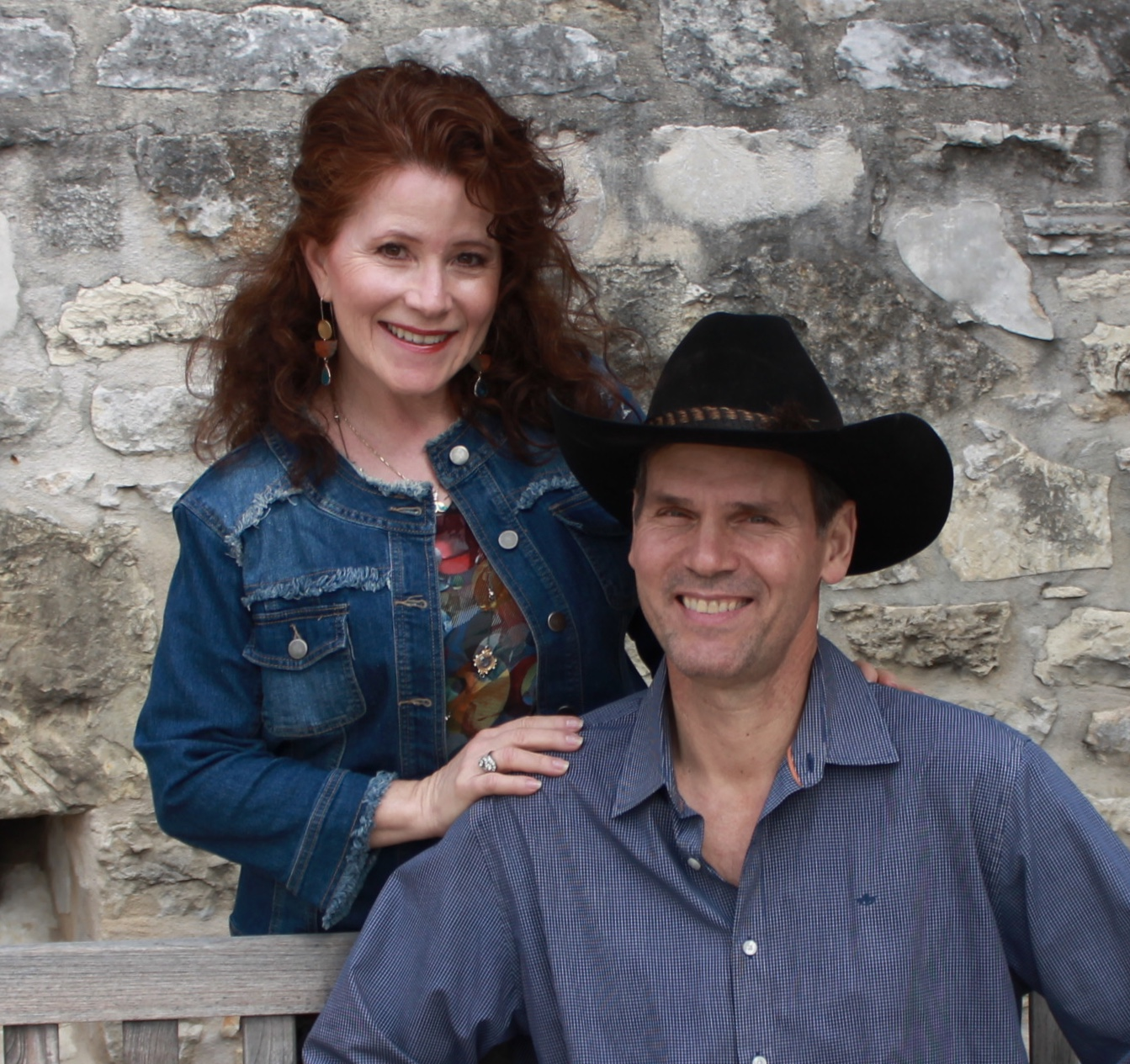 Brian & Mary Eckert - Welcome to the Ranch!We're 6th generation Texas, high school sweethearts, and longtime local business owners who love the Texas Hill Country. My husband Brian was born and raised on the ranch and continues to carry on the traditions of farming and ranching at the Rafter E. Planning a family wedding of our own inspired Brian and I to share our beautiful ranch with hill country brides. After months of planning, hard work, and dedication, our dreams have finally come true!We think our views and scenery are the most beautiful you'll find in the hills (but we're a little biased) and our generous seating capacity for both indoor and outdoor ceremonies will accommodate your guests with ease. With years of customer service experience, we understand the importance of professional and efficient support to create first-class events.We can't wait to meet you and look forward to making your special day an event to remember!