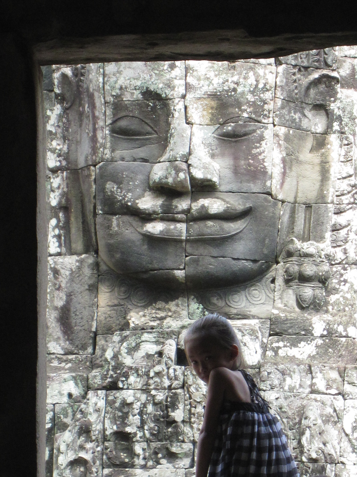 Jayavarman VII and Khmer Girl