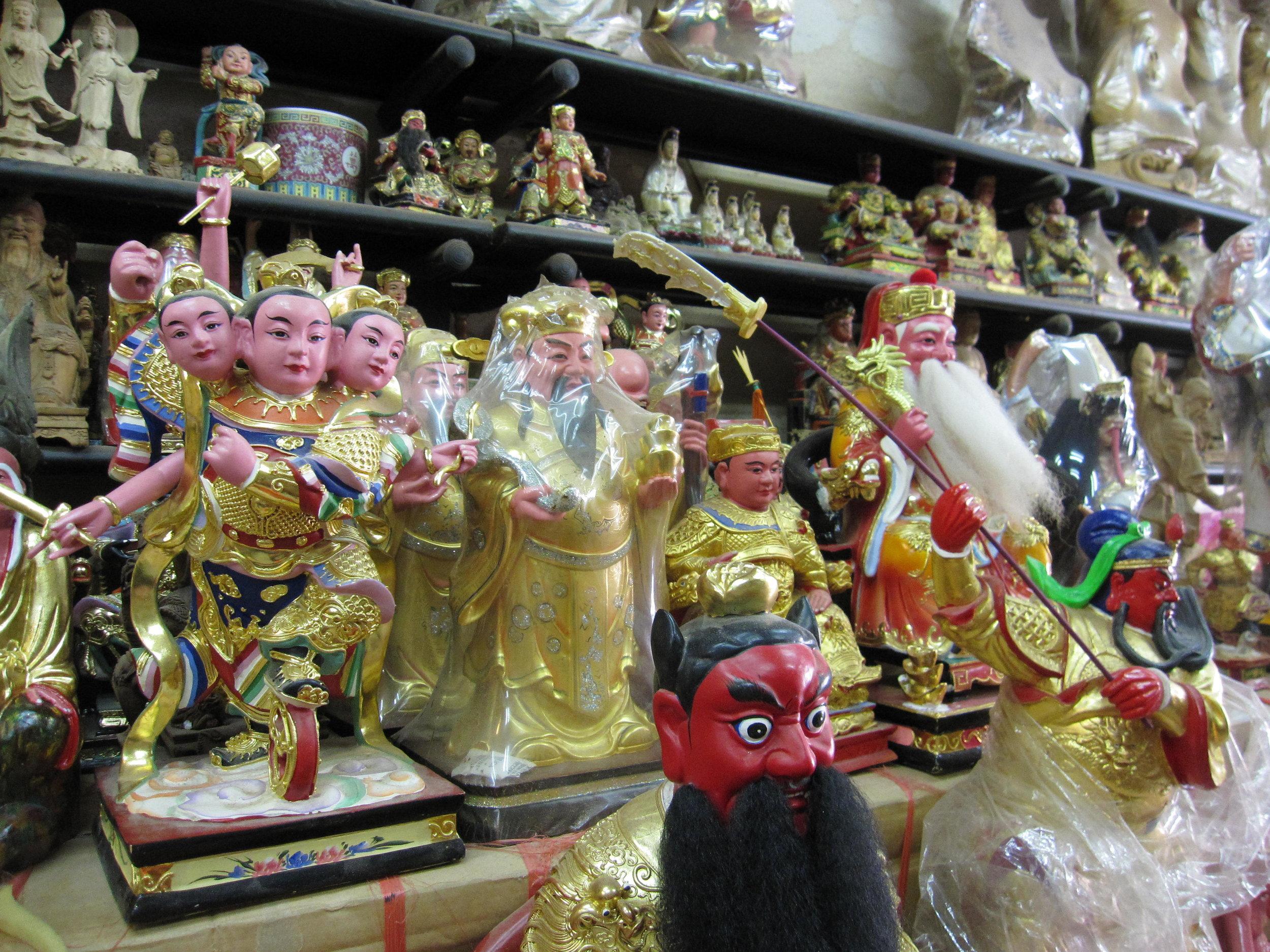 Wall of Deities