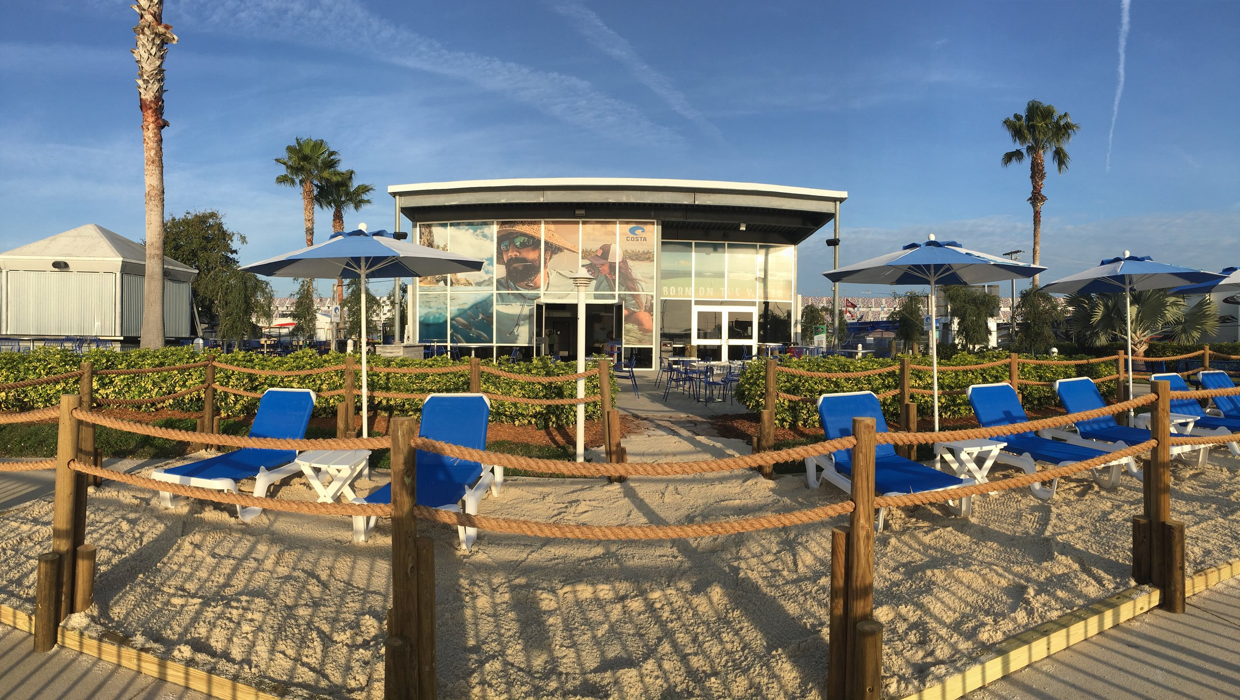 Custom Costa Beach at the Boardwalk Club (Daytona 500 Speedway)