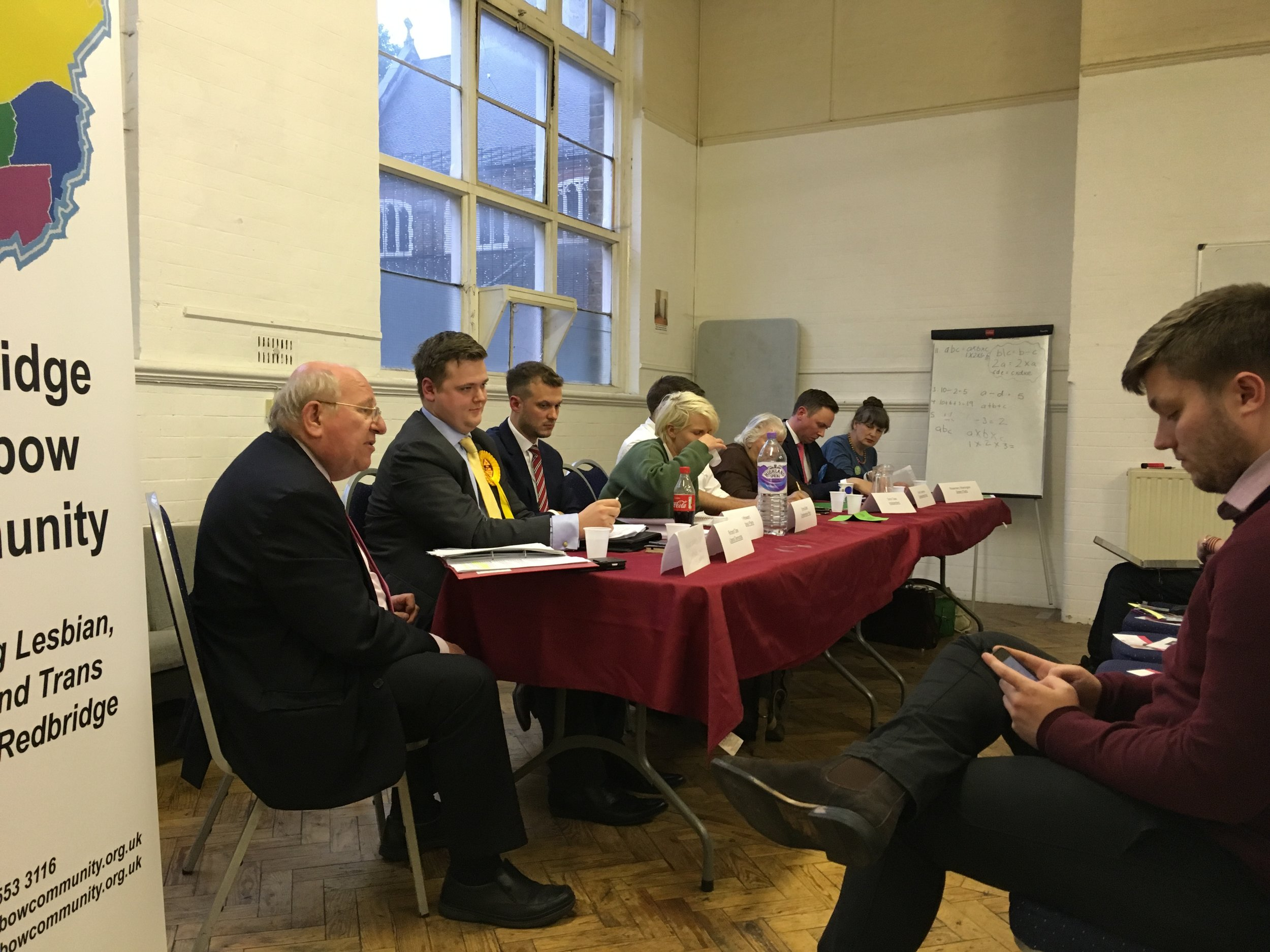 Mike Gapes and candidates