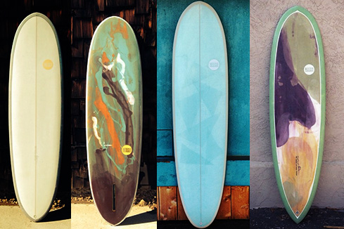 Upcycled Surfboard - Mid Length Shape