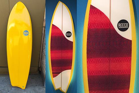 Upcycled Surfboard - Asymmetrical Shape