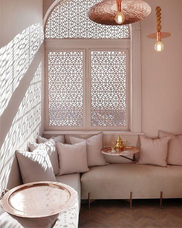 Mood. Tribal chic branding for Amaseena Majlis at The Ritz Carlton, Dubai  #inspiration #colorpalette #arabesque #patterndesign #ramadan #arabic #calligraphy #creative #design #branding #logo #r24design