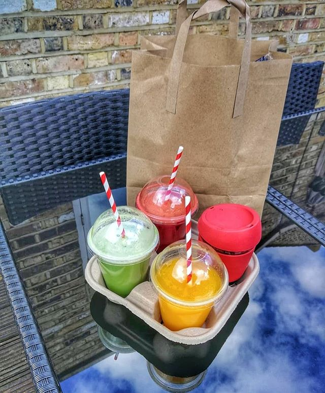 Just a friendly reminder: We do take away. #CoffeeToGo #JuicesToGo  #BreakfastToGo #BrunchToGo #LunchToGo #CakeToGo ☕🥐🍹🍳🥓🥗🌯🌯🍰🥞