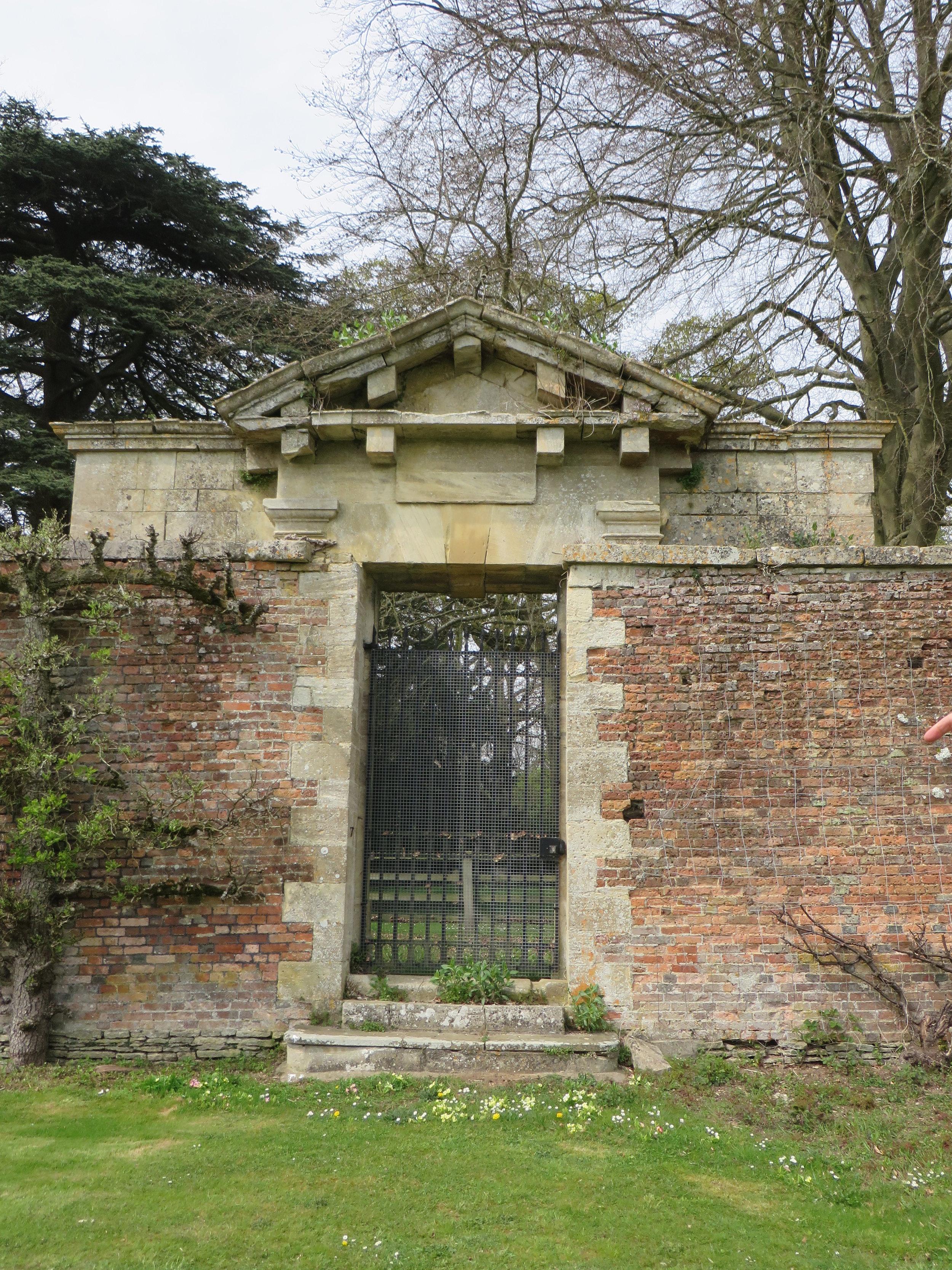 Chamber's Gate, Blenheim Palace