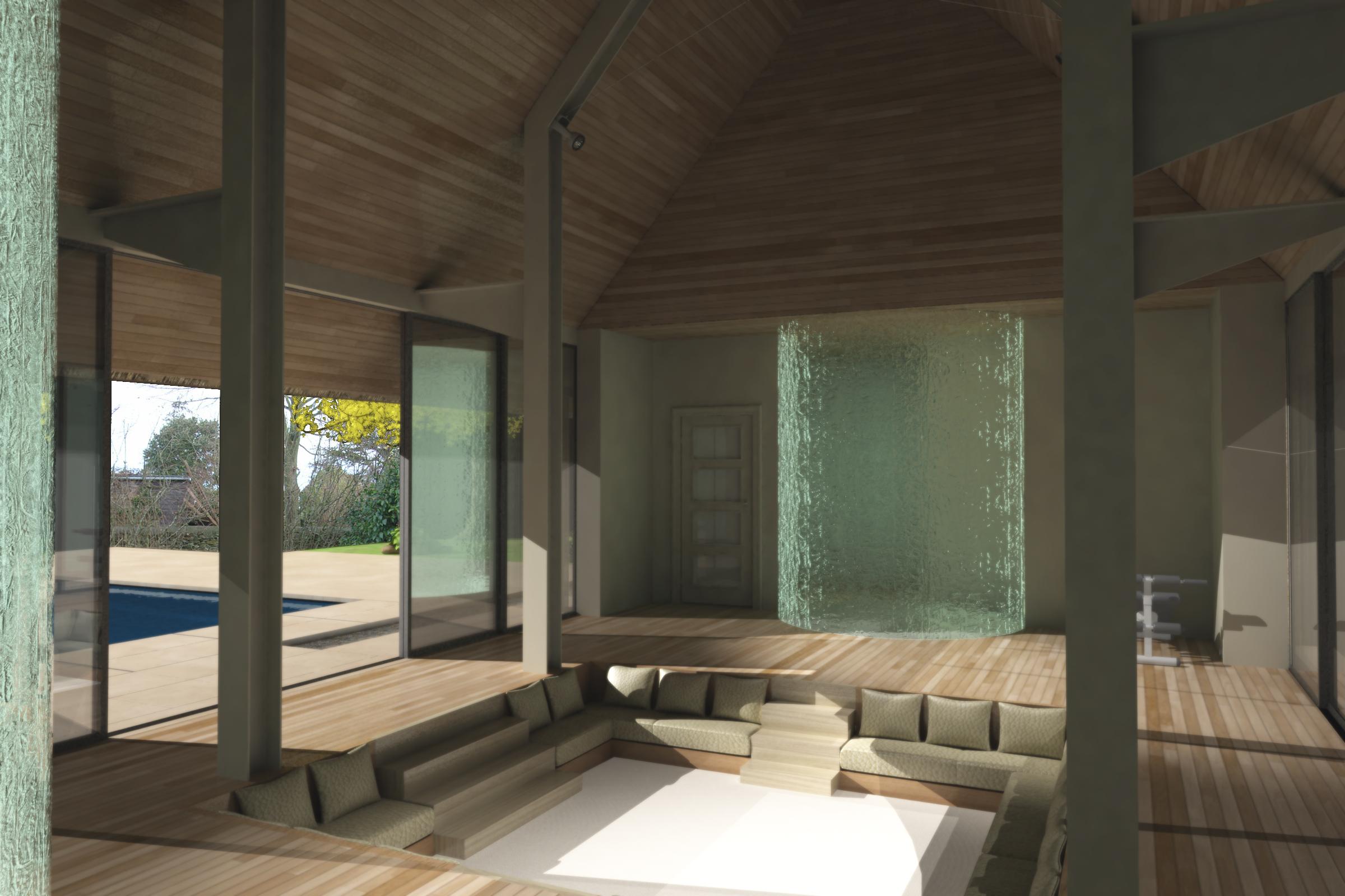 Cotswold Manor Pool House - Refurbishment