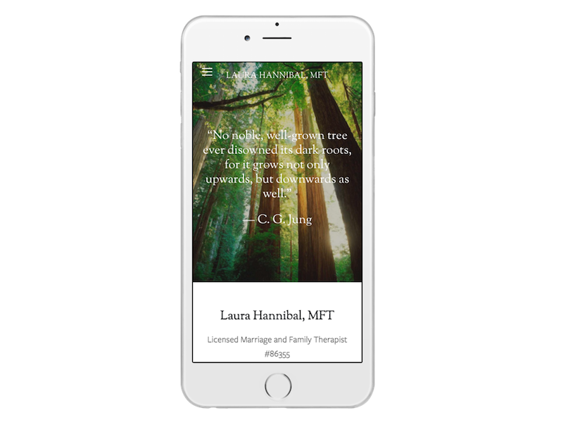 Web Design Package 2 Mobile Example