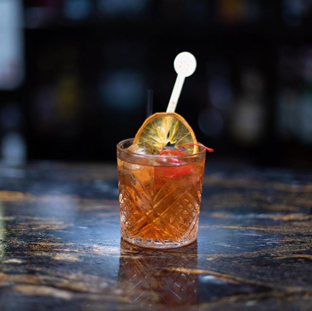 Have an #oldfashioned cocktail to kick start your Friday evening @lokkumlondon