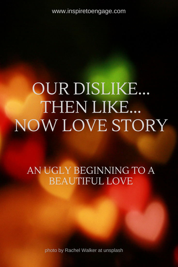 dislike like love story inspire to engage