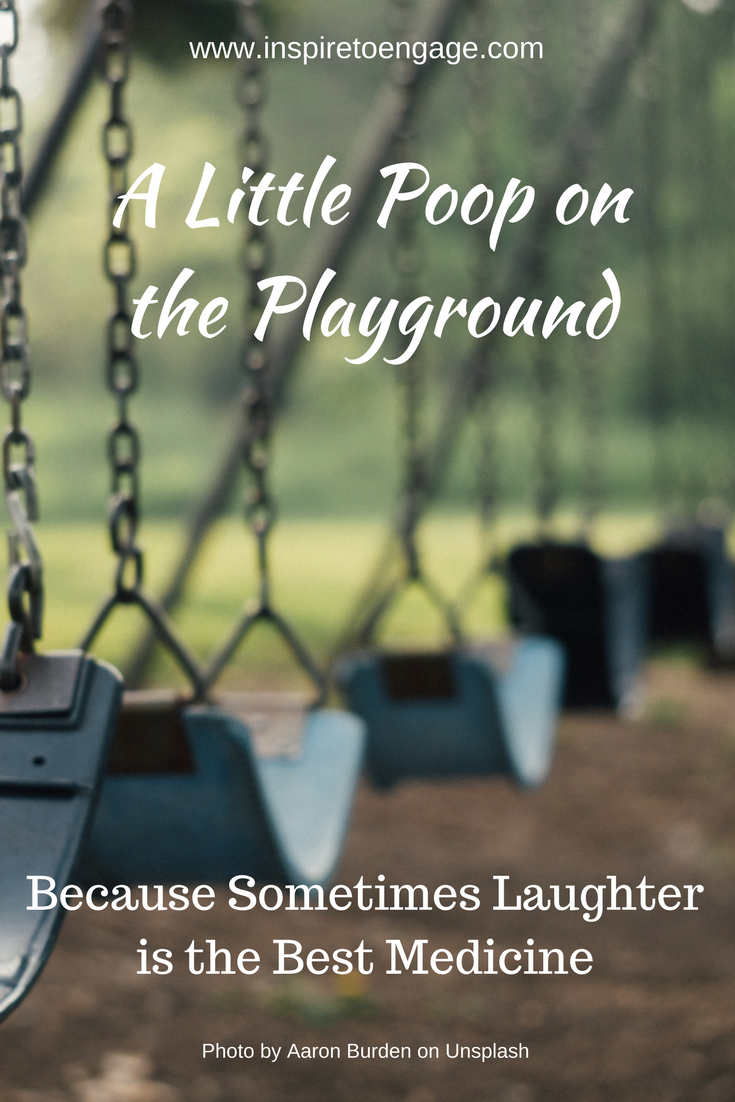poop on playground inspire to engage