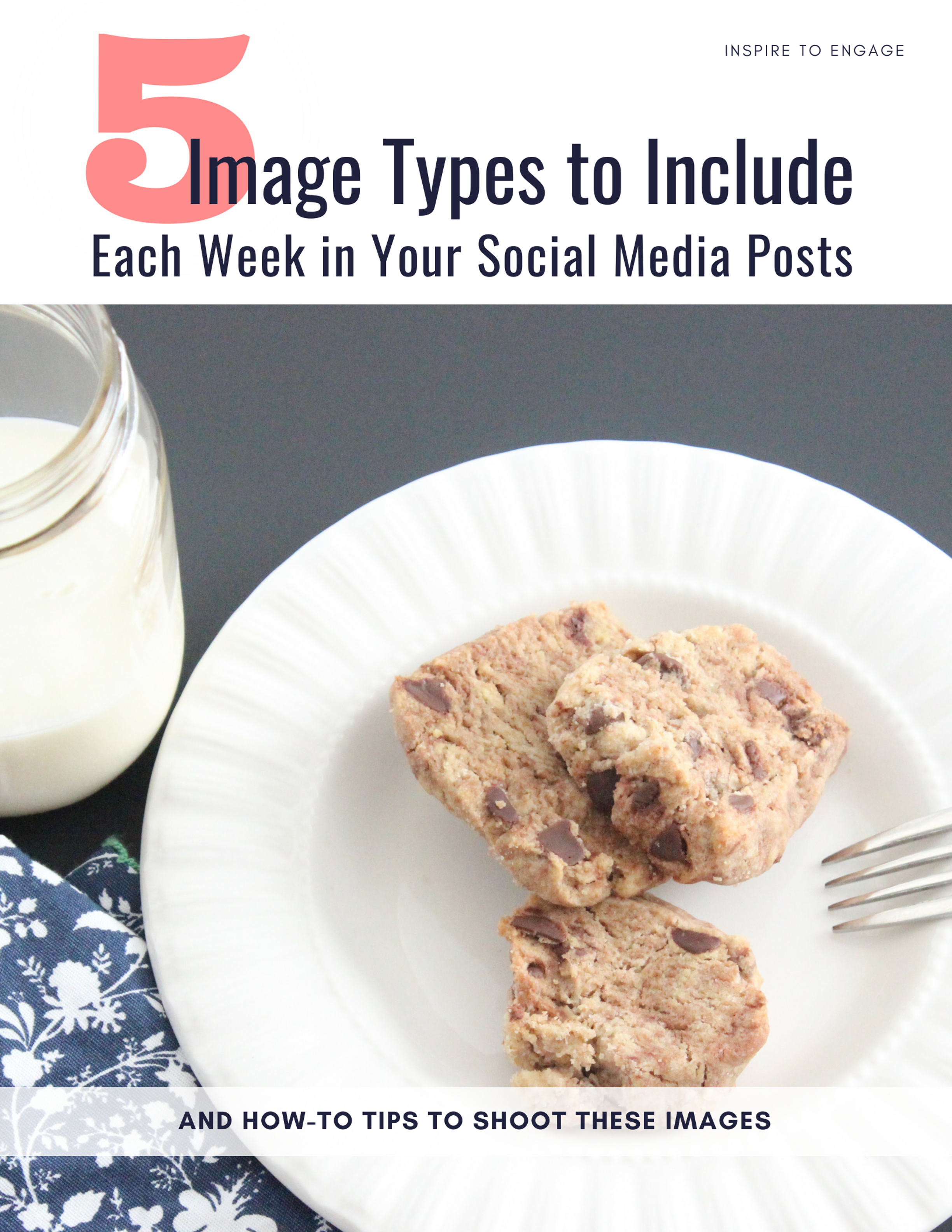A 15-page guide to improve your images for social media and, even more importantly, build your confidence and save you time