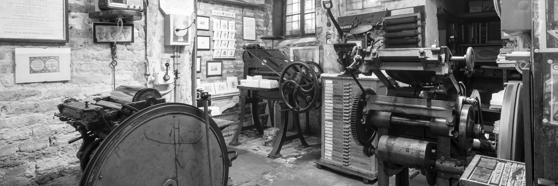 Ancienne imprimerie à Cannaregio
