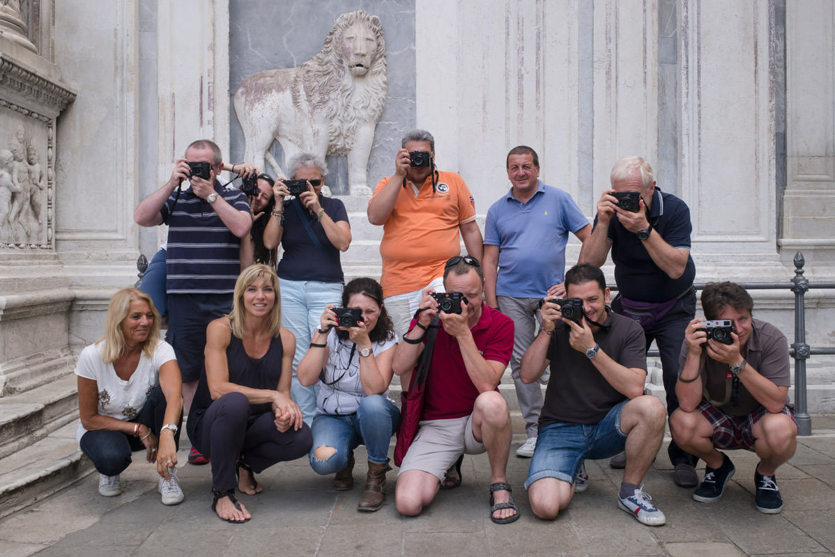 The first Leica Akademie Discovering Venice