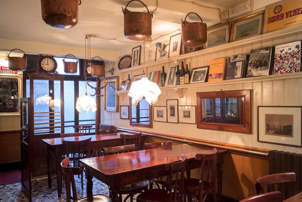 L'Interior de la trattoria ca' d'Oro alla Vedova