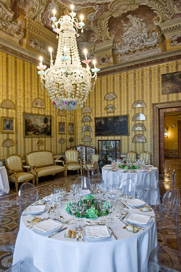 Intérieur du Palazzo Pisani Moretta