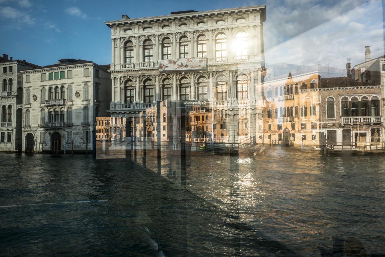 La façade du Palazzo Rezzonico sur le Grand Canal