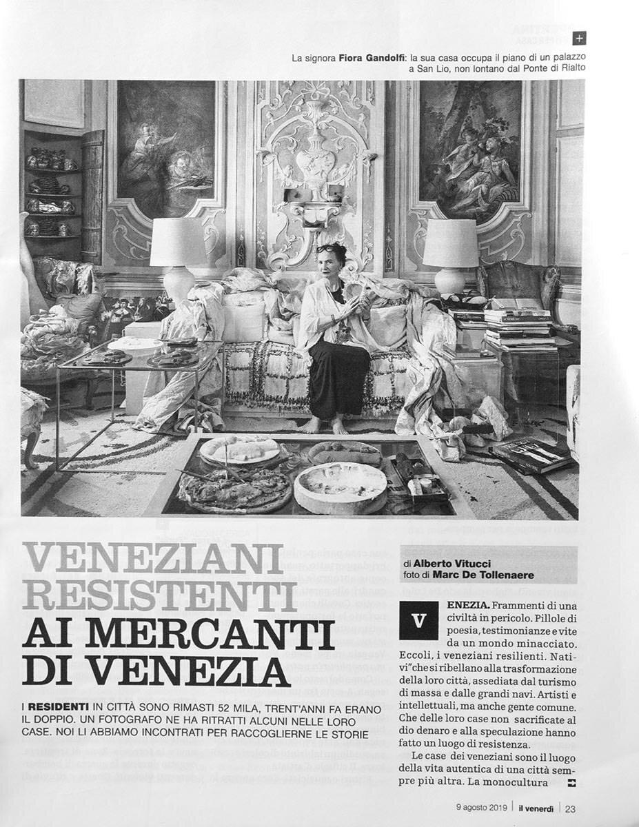Il Venerdì di Repubblica - 9 agosto 2019