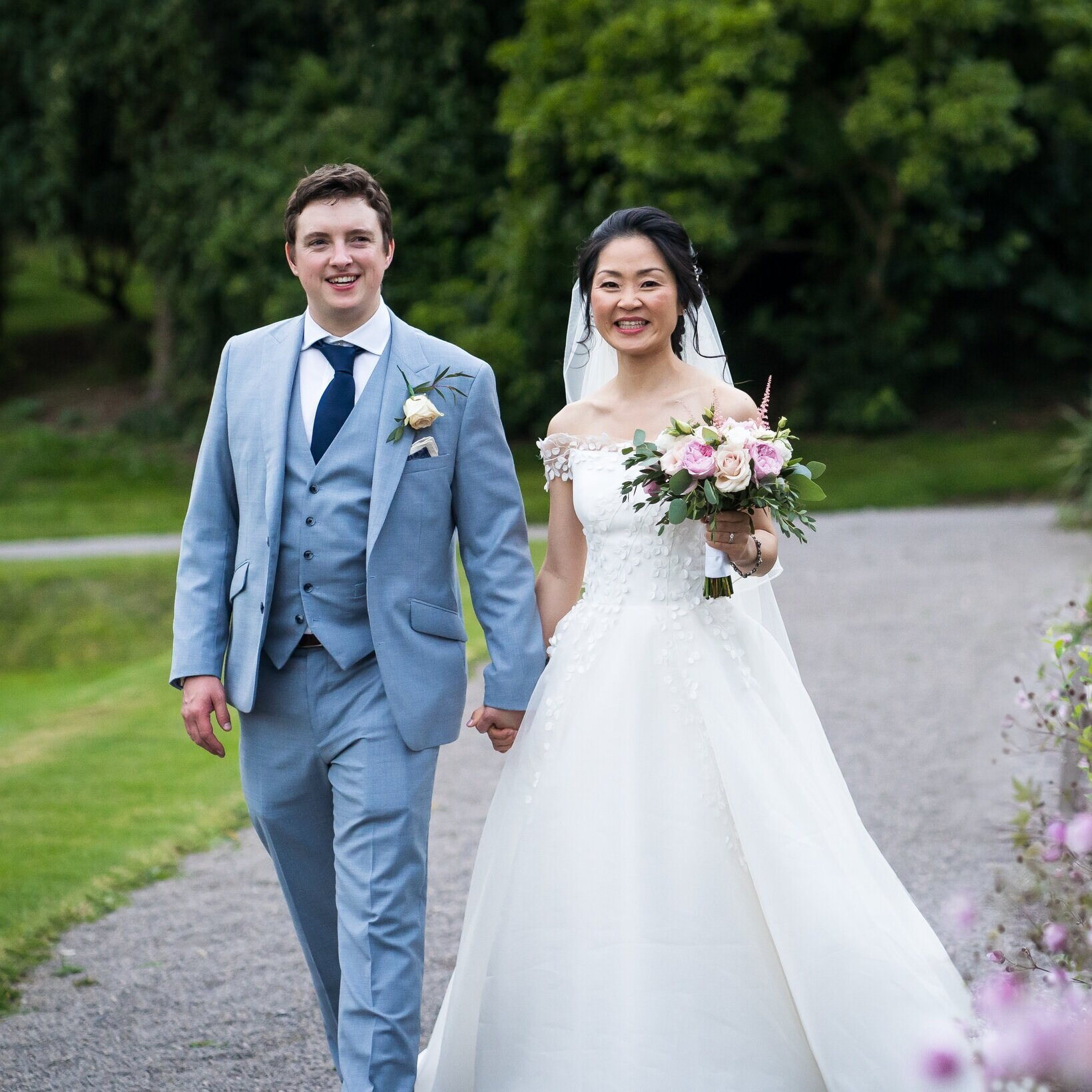 Yaying & Will  De vere Tortworth Court