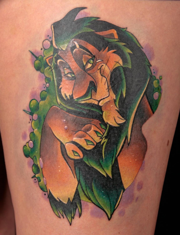 Best Disney Tattoo 2013