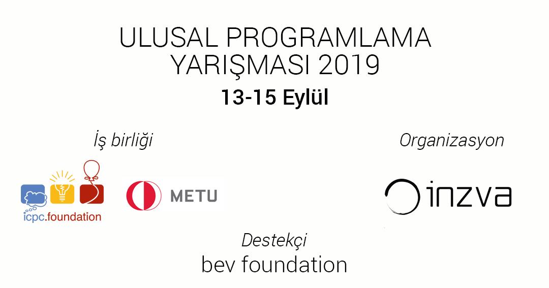 Ulusal Programlama Yarışması 2019
