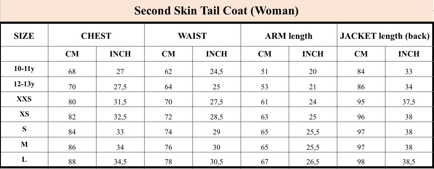Second Skin Tail Coat