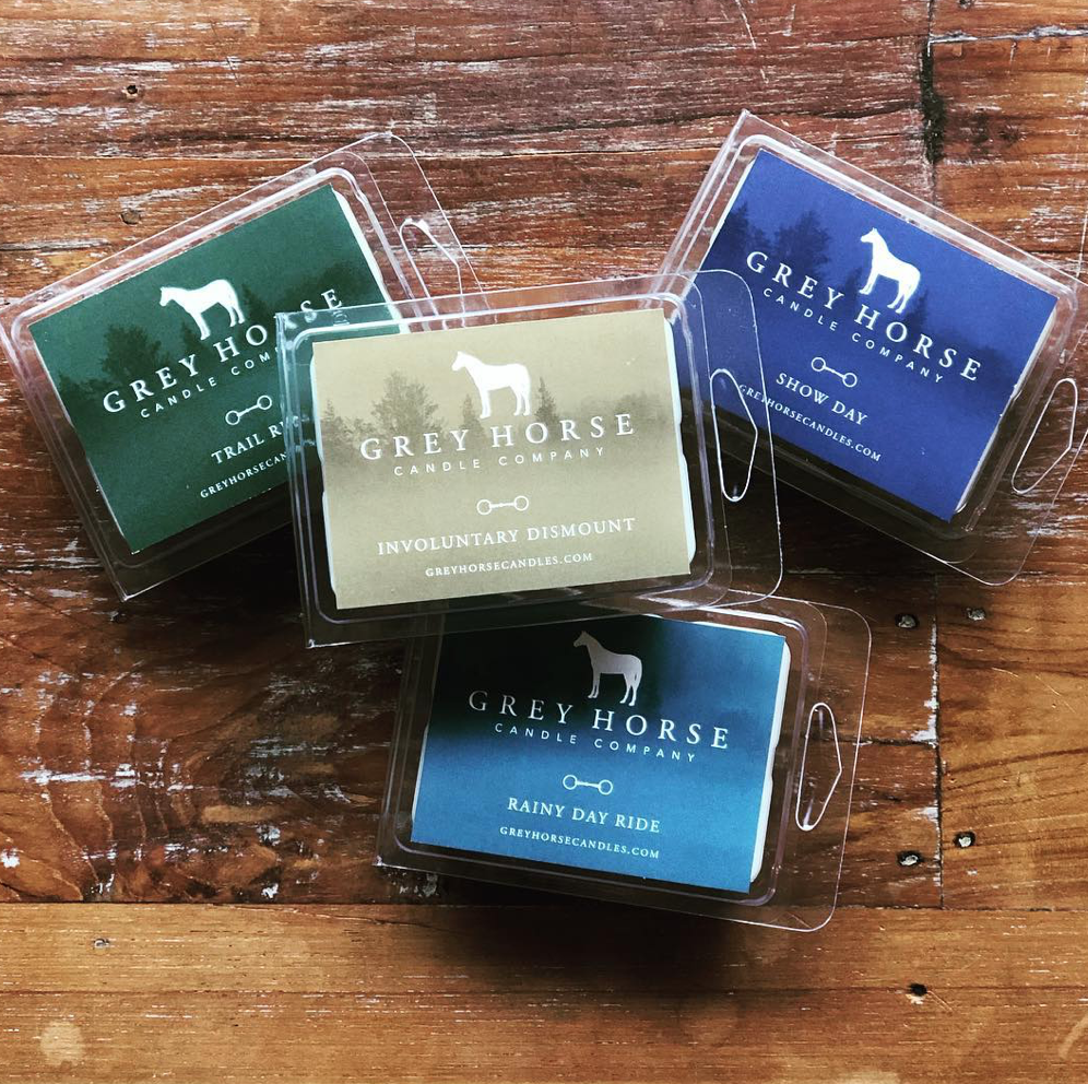 Grey Horse Candle Company All Natural Soy Wax Tarts