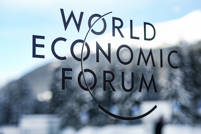 The Forums Logo, Annual Meeting 2019 of the World Economic Forum in Davos, January 20, 2019. Copyright World Economic Forum / Benedikt von Loebell.