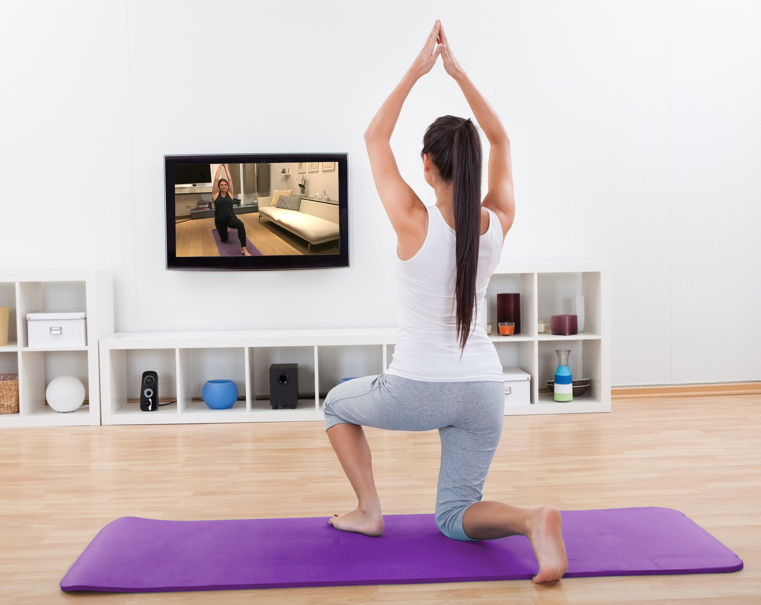 Yogavideos on demand leihen oder abonnieren