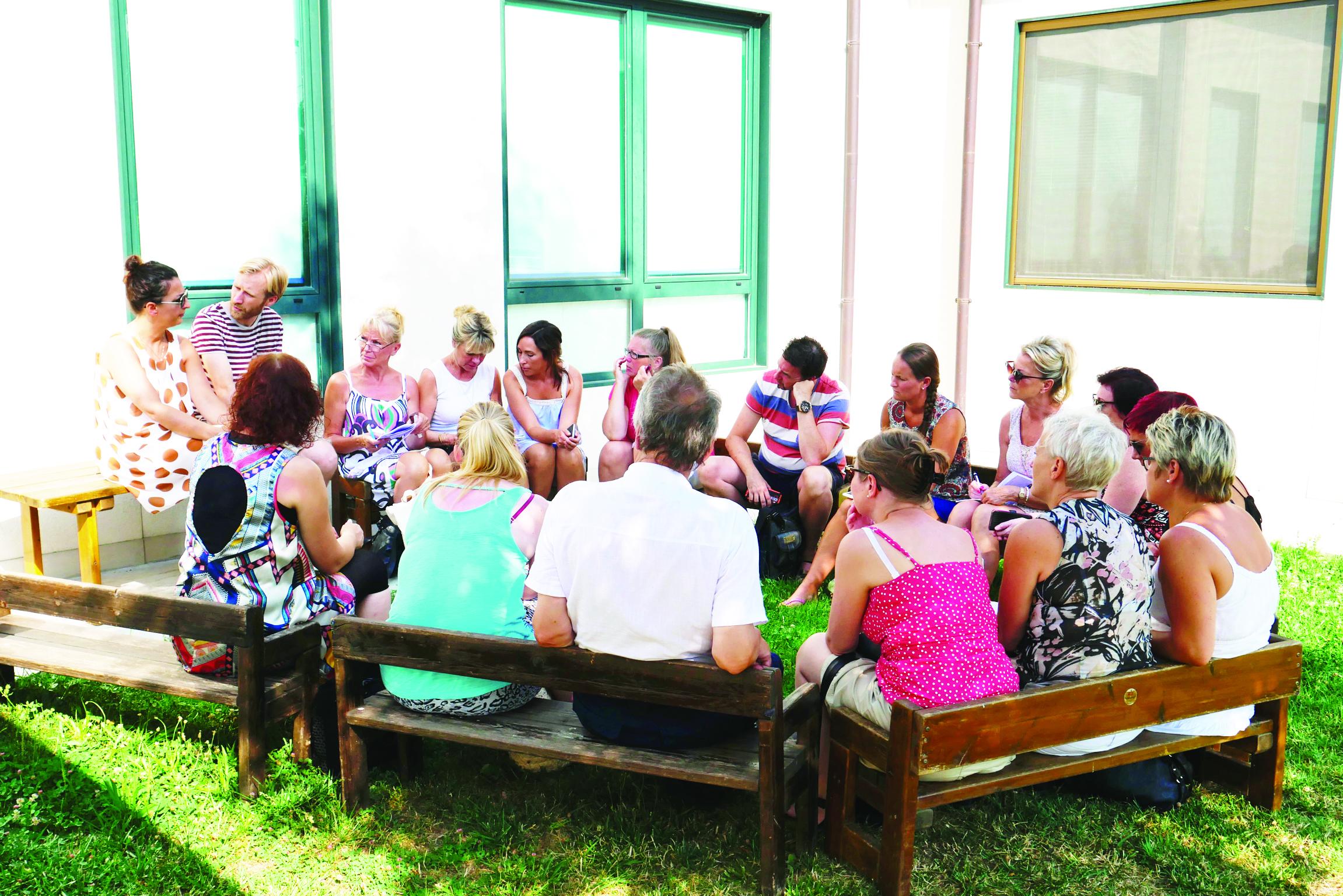 Studiebesök på en Reggio Emilia-inspirerad förskola i Italien