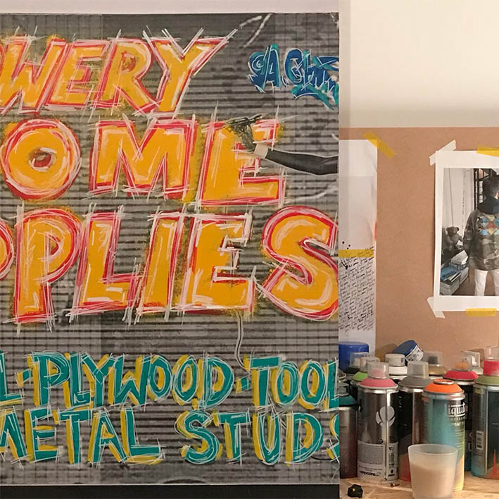 STUDIO THORAL  / Artwork in progress #collage #artwork #art #painting
