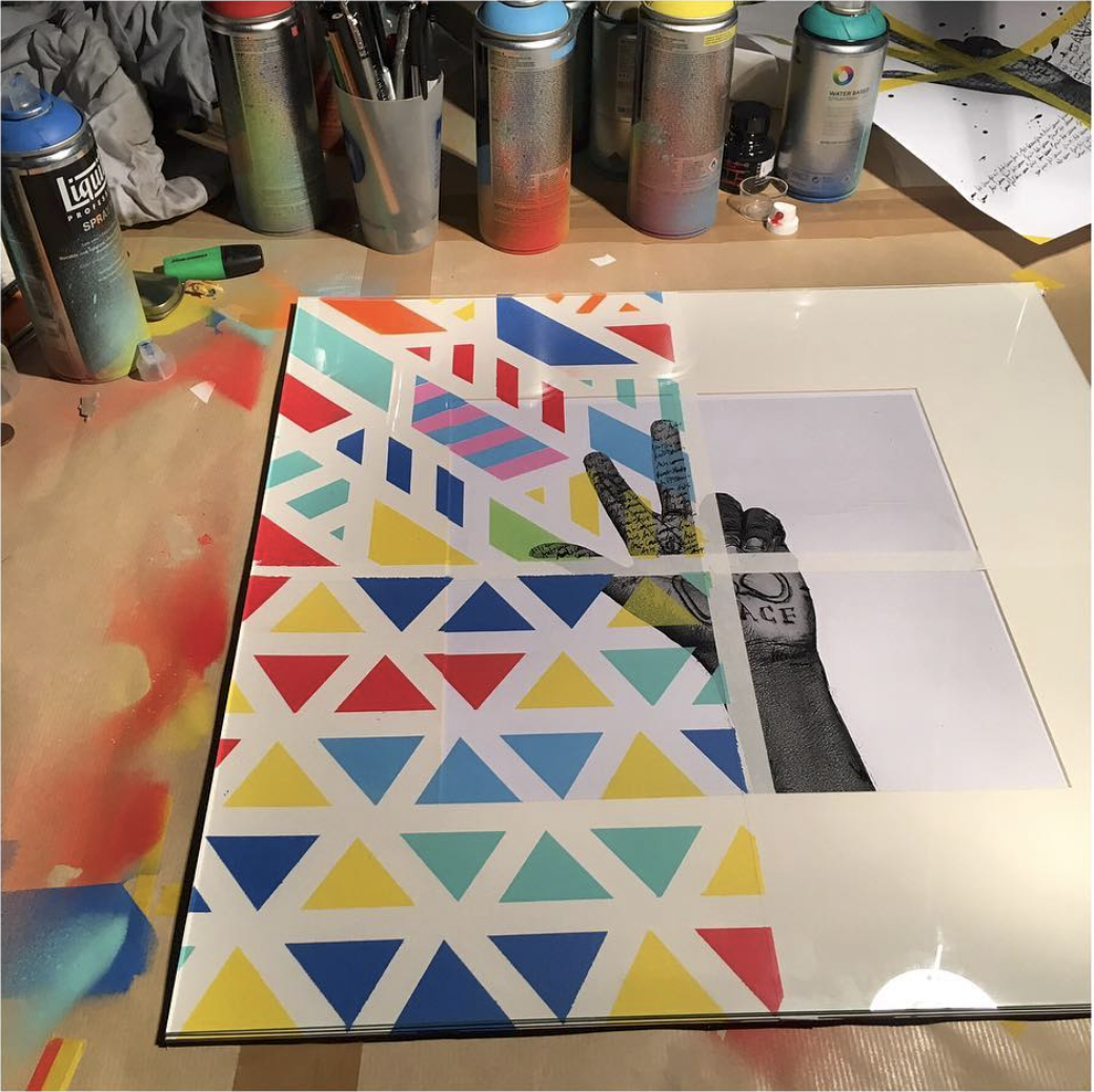 STUDIO THORAL  / Work in progress, New Iconic artwork  @artcomesfirst 🇬🇧🇬🇧 to follow ...