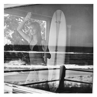 Amazing images by @michaeldweckstudio « Adriana at the panoramic view » in Montauk #michaeldweck #montauk #longisland #surf #blackandwhite