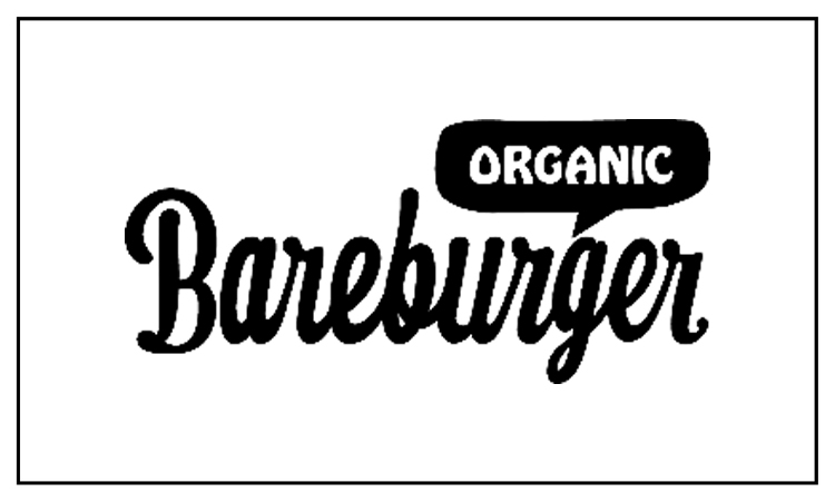 26.  Local, organic, & sustainable burgers, shakes, salads, fries, and sides.  www.bareburger.com   Hours: Mon - Thu | 10am-11pm    Fri | 11am-11pm    Sat | 9am-11pm    Sun | 9am-10pm