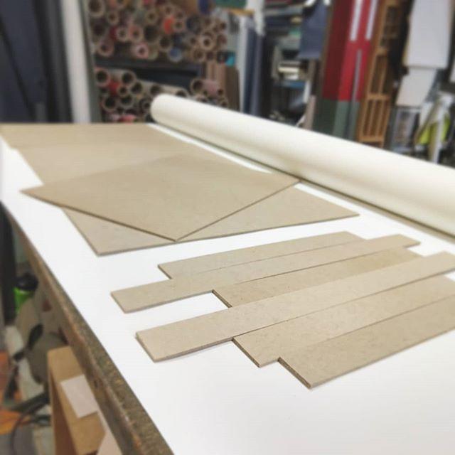 Building ⚙️✂️📚 #inthestudio #bookbindery
