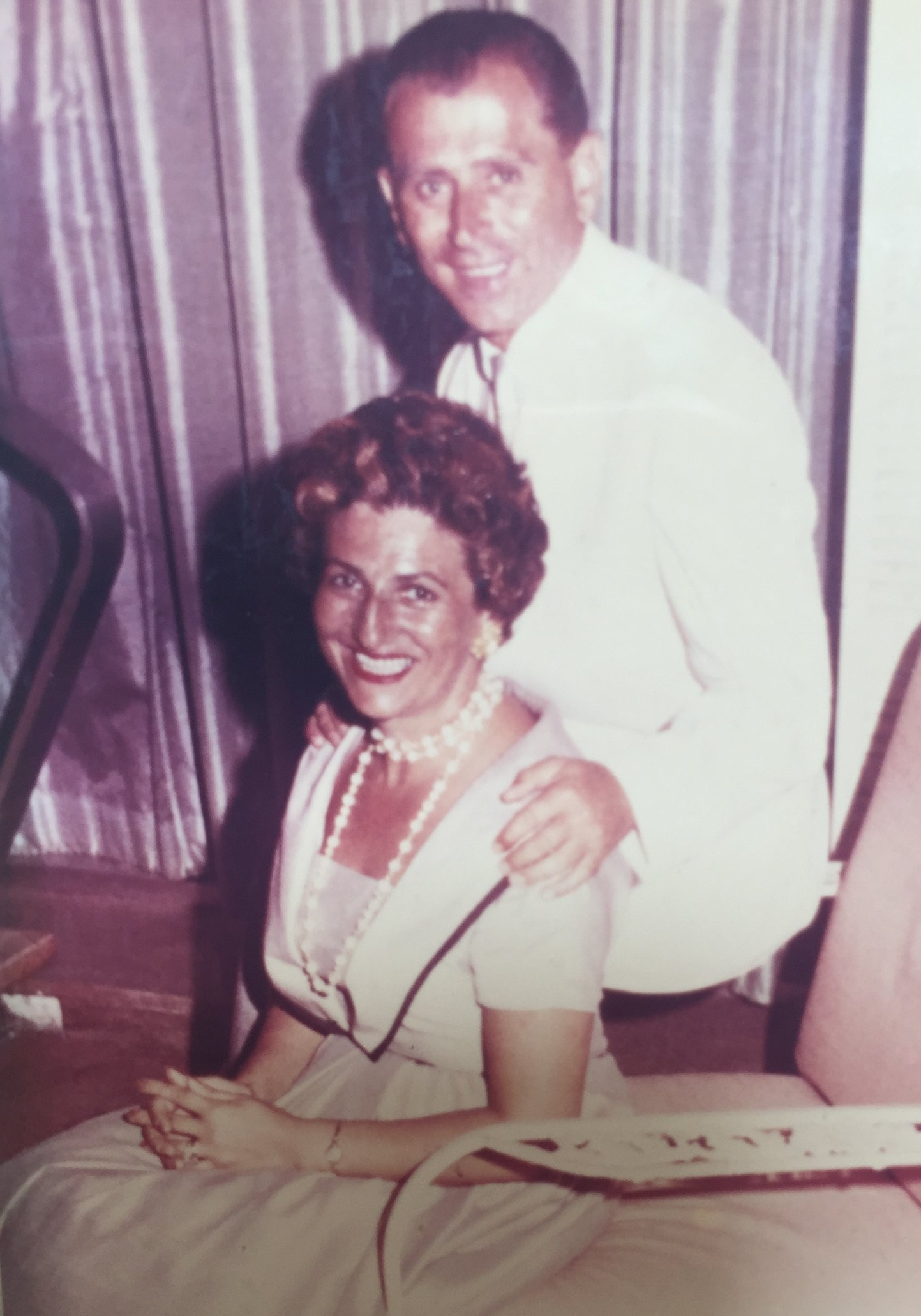 Jadzia and Ben Stern, late-1950s. Image courtesy of Lilly Stern Filler.