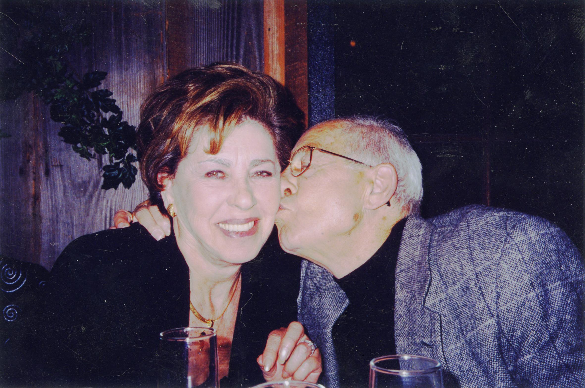 Bluma and Felix Goldberg. Image courtesy Esther Goldberg Greenberg