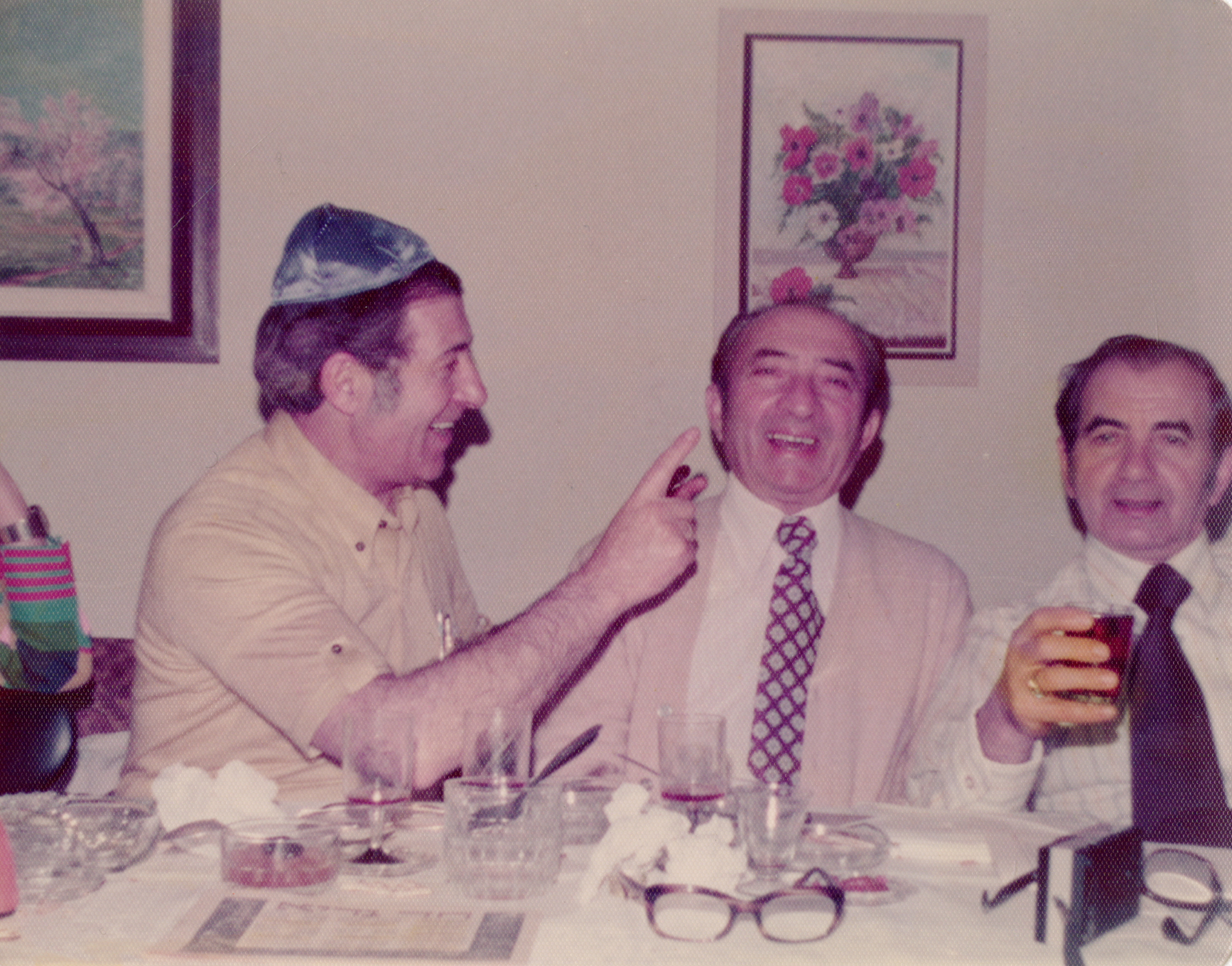 Brothers Leon, Felix, and Bernard Goldberg. Image courtesy Esther Goldberg Greenberg