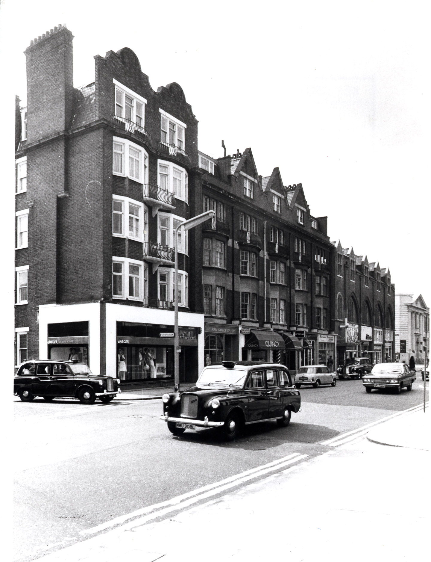 Kings Road - south side, 145-147 1974 KS4447.JPG