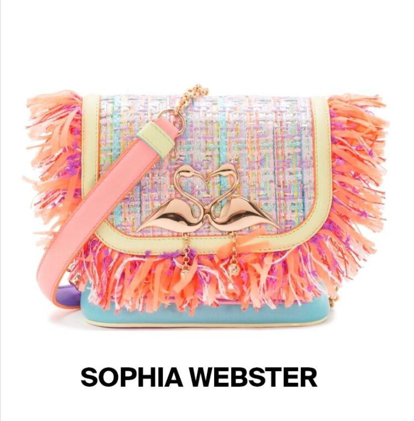 Sophia Webster Flamingo Bag, summer must have fashion