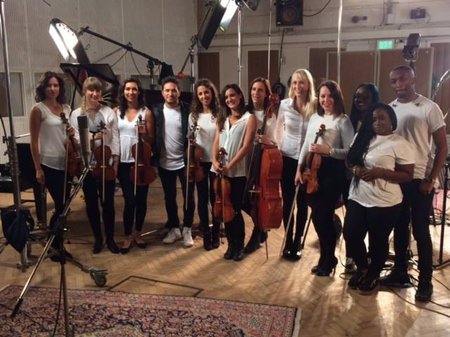 Leading strings for Jonas Blue at Abbey Road ft. Raye - 'By Your Side