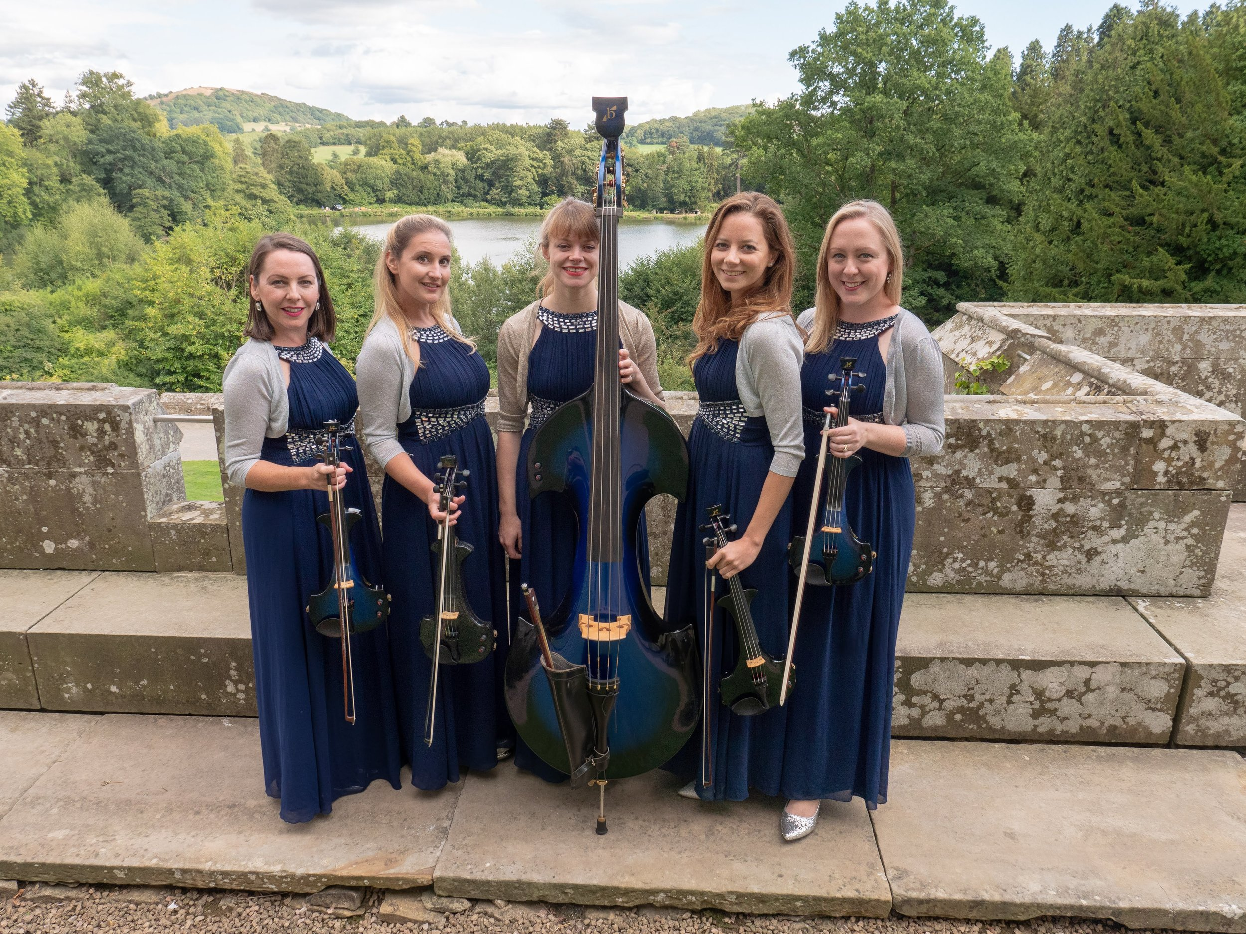 Our Electric Quintet Eastnor Castle