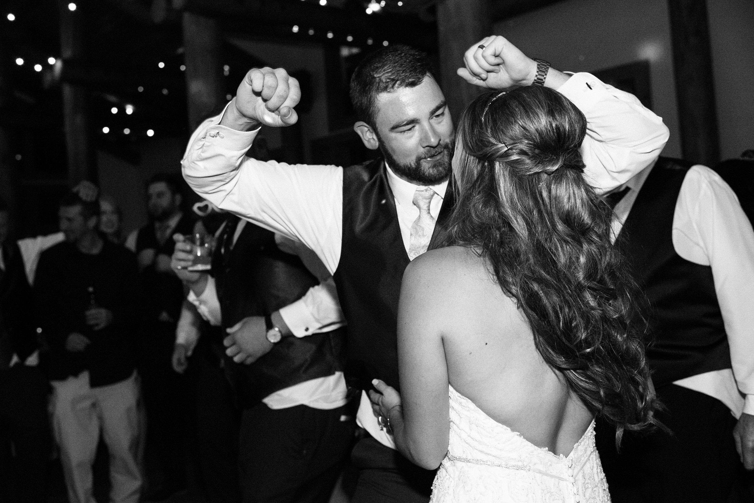 Dances at TImber Ridge at Keystone, Colorado mountain wedding