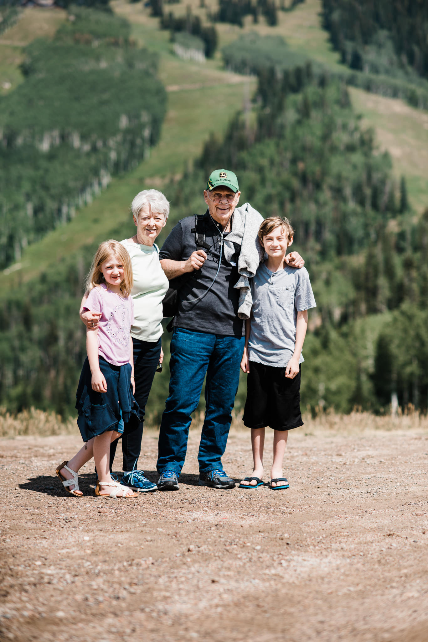 Annual Steamboat Springs trip with Aunt Mary Jo & Uncle Gene
