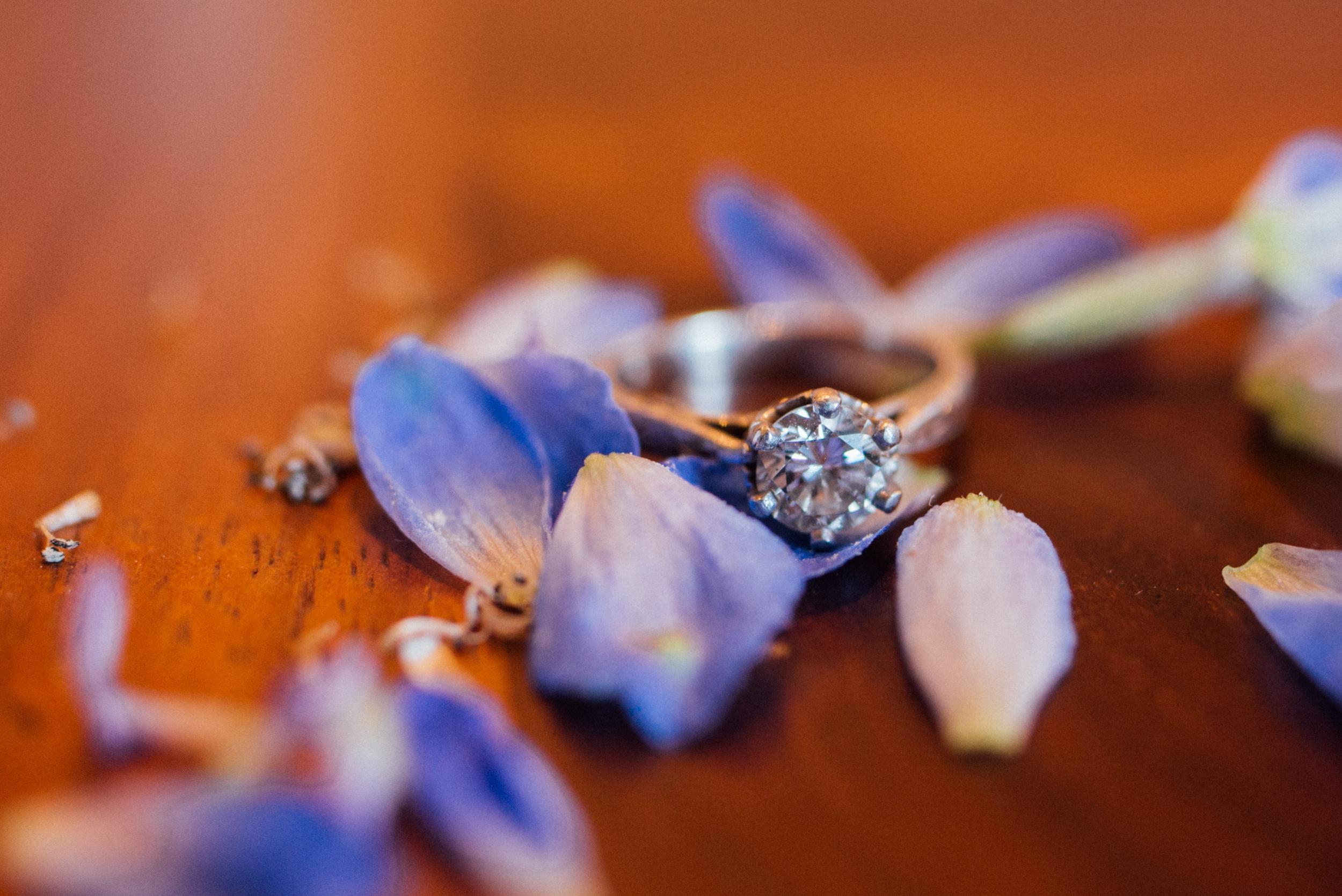 Colorado Denver Downtown Urban Wedding Colorado Wedding Photographer engagement ring