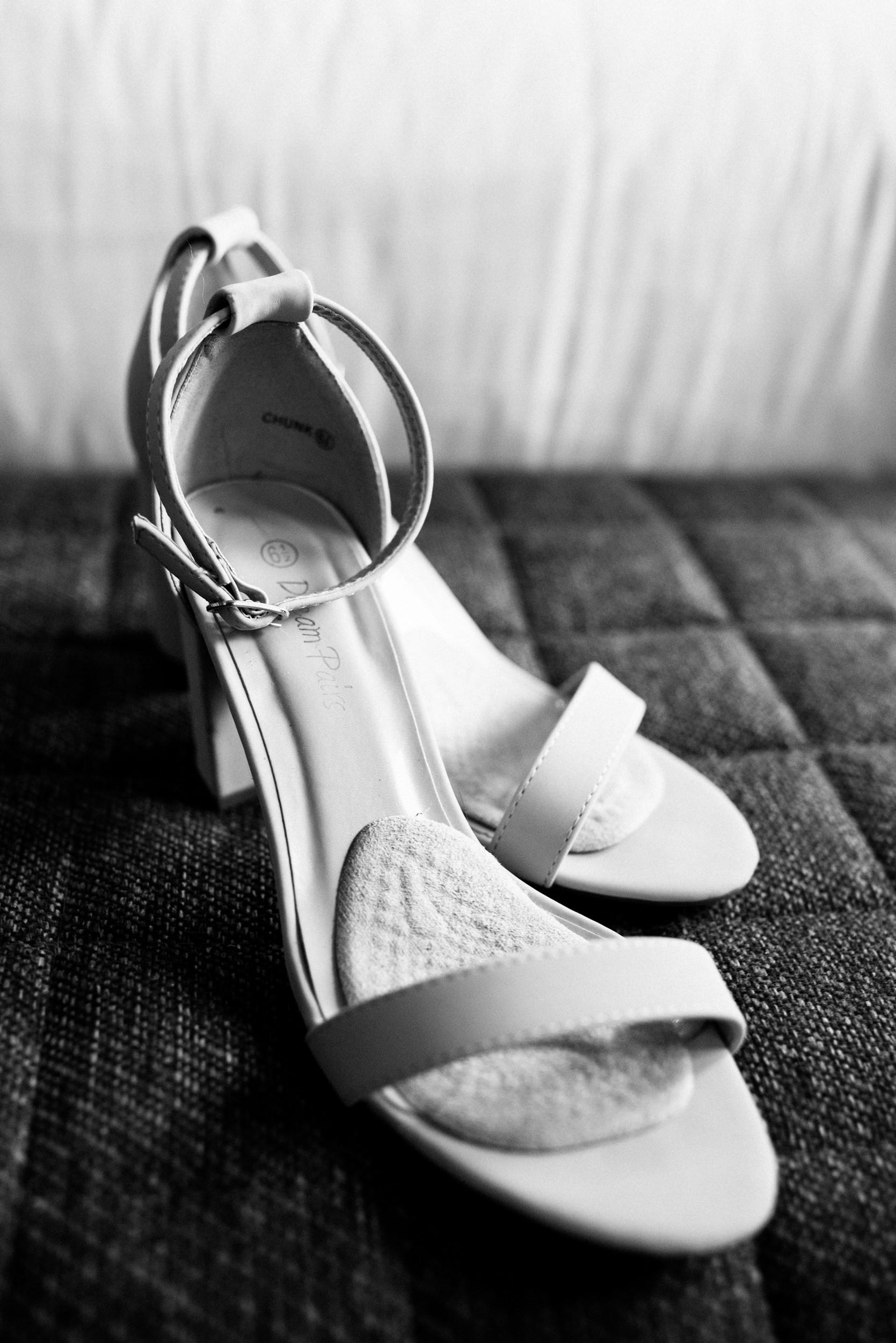 Colorado Denver Downtown Urban Wedding Colorado Wedding Photographer shoe details