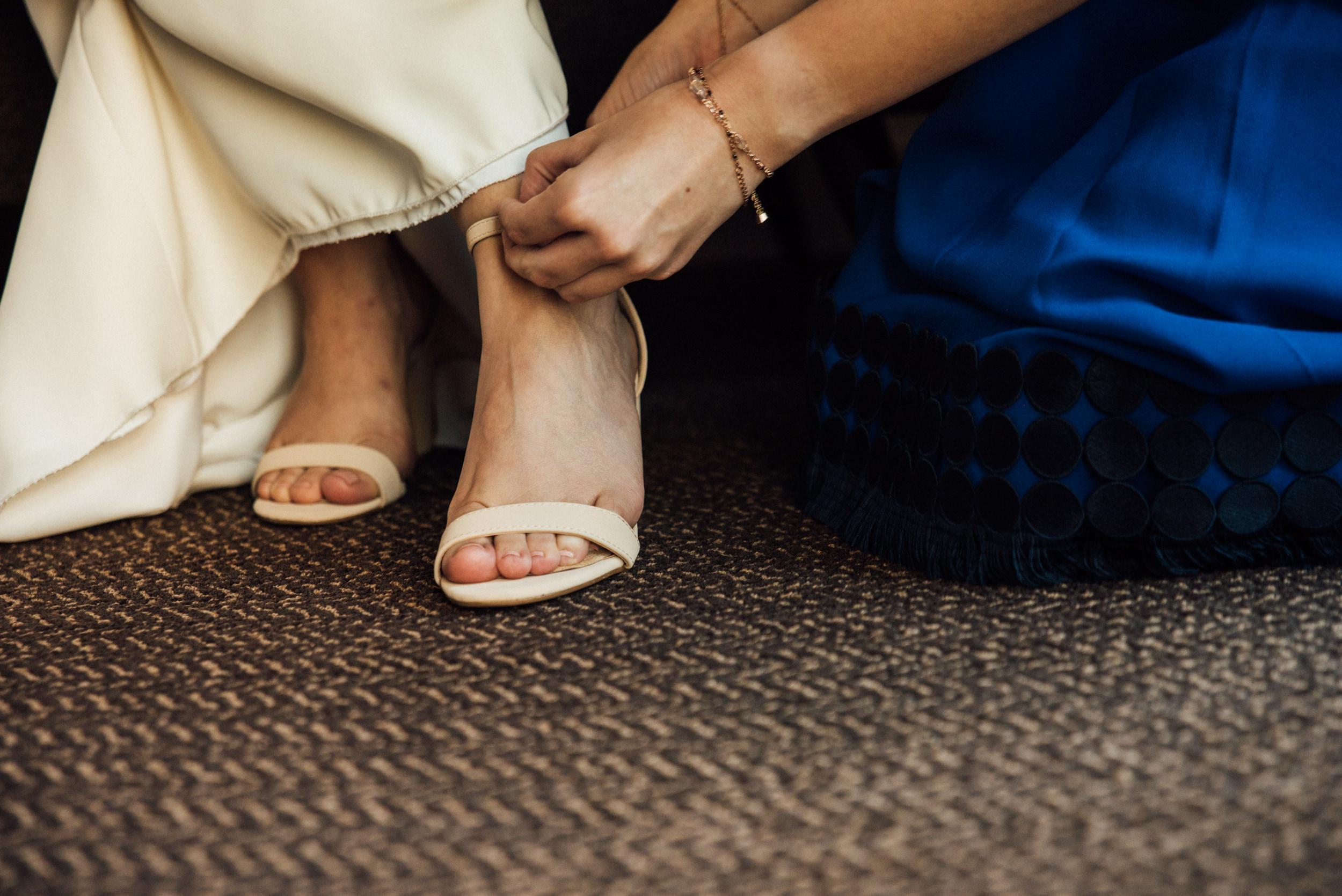 Colorado Denver Downtown Urban Wedding Colorado Wedding Photographer Shoes