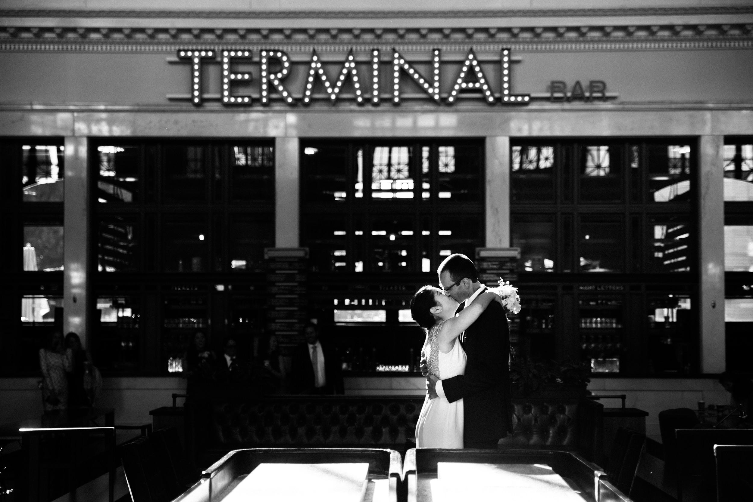 Colorado Denver Downtown Urban Wedding Colorado Wedding Photographer Union Station First Look